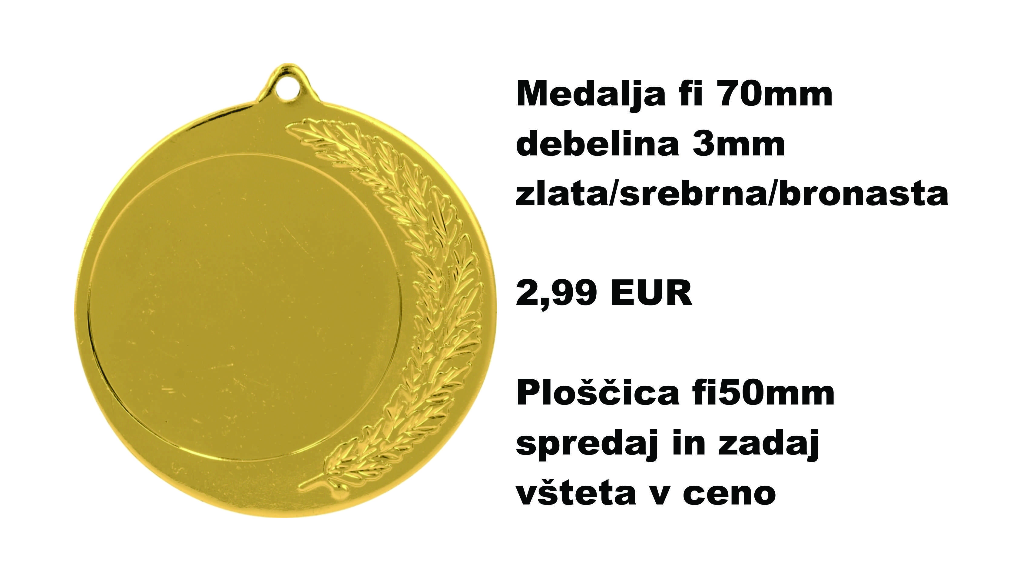 medalja 70